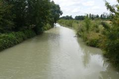 Canal de la Daurade a Loire les Marais sur la D137