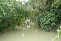 Canal de Loire au pont du chemin de fer