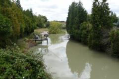 Canal de Loire au Pont Neuf sur la D911