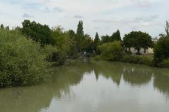 Canal de Loire au Pont Rouge sur la D739