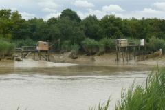 Canal de Loire a l'entrée en Charente